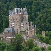 Picture of Eltz Castle, a view from northeast