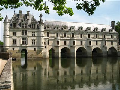 Château de Chenonceau - West facade of the Pont de Diane