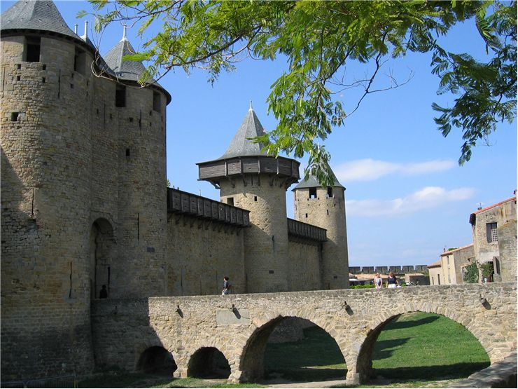 Enterance of the Castle - Cité de Carcassonne