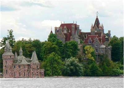 Boldt Castle on Heart Island