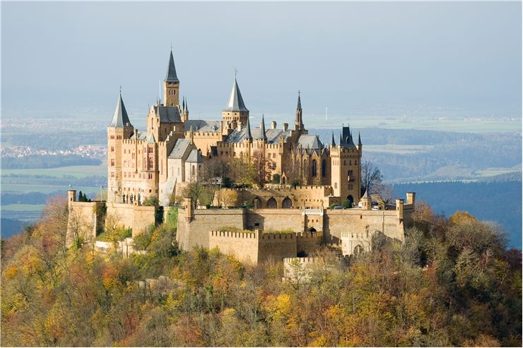 View of Hohenzollern Castle