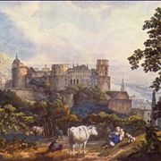 Heidelberg Castle by Karl Philipp Fohr