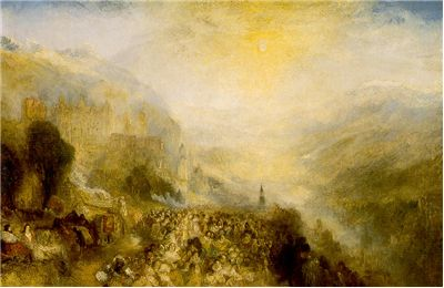 Heidelberger Schloss by William Turner