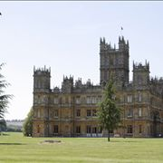 View from the grounds at Highclere Castle