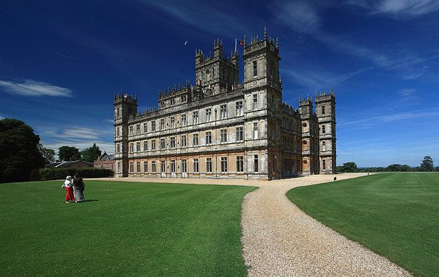 Highclere Castle - View from the path