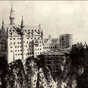 Neuschwanstein - Rectangular Tower under construction
