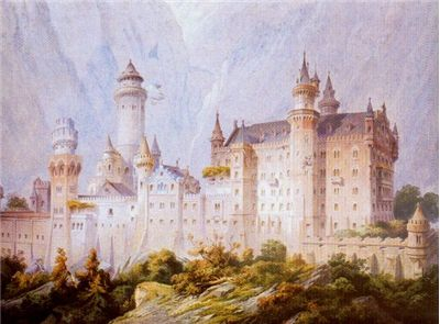Neuschwanstein project drawing