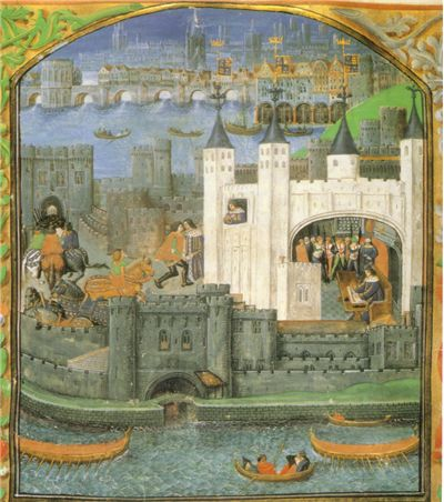 Tower of London  in poems of Charles, Duke of Orléans