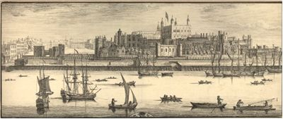 Tower of London by Samuel and Nathaniel Buck