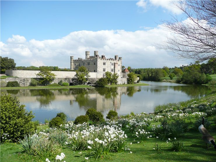 Garden of Leeds Castle