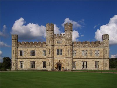 Leeds Castle in the Tudor style