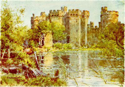 Bodiam Castle by Wilfrid Ball