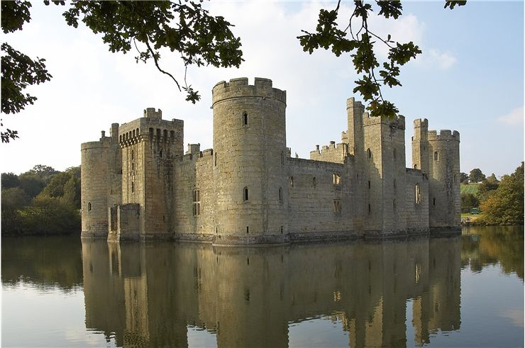 Photo Bodiam Castle in Sussex