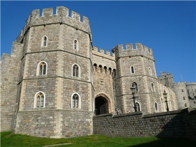 Henry VIII's gatehouse at Windsor Castle