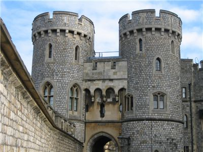 The Norman Gate at Windsor Castle